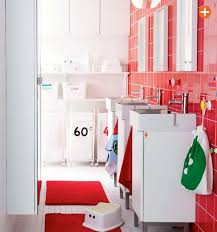 bathroom red ikea bathroom colorful bathroom ideas 2017 12