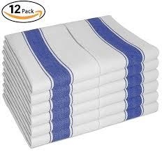 dish towels vintage style w loop set of 12 large