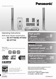 amazing panasonic sa ht940 manual 24 on amazing cover letter with