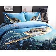 Ocean Duvet Cover Amazon Com 3d Bedding Set Octopus Bedding Print Twin Full Queen
