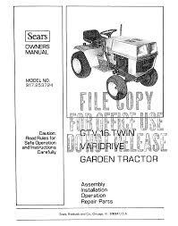 craftsman garden tractor parts pyihome com