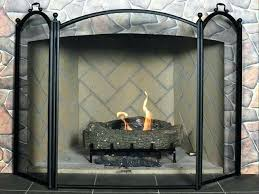 fireplace screens for gas fireplaces folding fireplace screens decorative fireplace screens for gas fireplaces