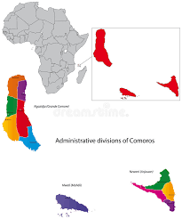 map comoros comoros map stock vector illustration of atlas 27673840
