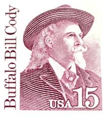 15 cent us postage stamp buffalo bill cody uncirculated buffalo
