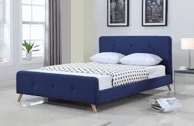 Scandinavian Bed Frames Vic Furniture Modern Scandinavian Upholstered Bed Frame