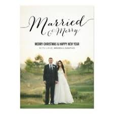 married christmas cards merry christmas from the future mr and mrs photo card