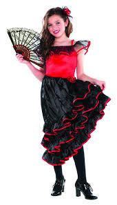 girls u0027 spanish flamenco dancer fancy dress costume national