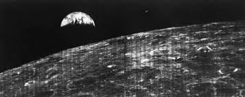 Flag On The Moon Conspiracy First View Of Earth From Moon Nasa