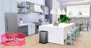 Kitchen By Design My Sims 4 Blog Updated Shaker Kitchen By Peacemaker Ic