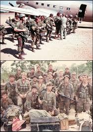 fireforce one man s war in the rhodesian light infantry rhodesians never die bane biddix medium