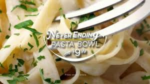 Olive Garden Never Ending Pasta Bowl Is Back - olive garden s never ending pasta bowl is back now get unlimited