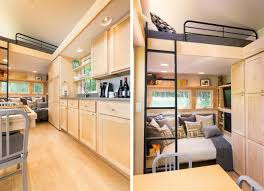 Kelly Davis Architect Tiny 269 Square Foot Mobile Home Finds Space For All Your Modern