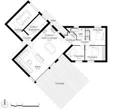 plan maison 100m2 3 chambres découvrez 5 plans de maisons de 100m et les plans de masse