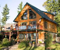 Two Story Log Homes by Log Cabin Homes Page 5