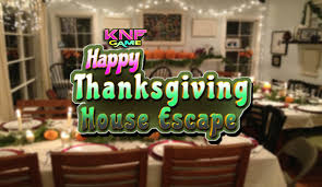 knf happy thanksgiving house escape escape