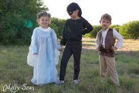 Dread Pirate Roberts Halloween Costume Princess Costume Free Pattern Tutorial Melly Sews