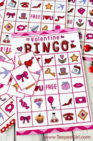 valentines bingo free valentines day printable bingo
