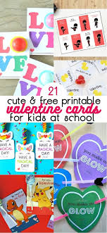 school valentines 21 free printable cards for school these ideas