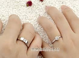 korean wedding rings jpf lettering wedding ring 925 silver rings