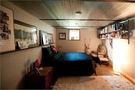 Basement Bedroom Design Unfinished Basement Ideas Endearing Basement Bedroom Unfinished