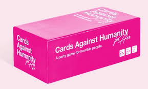 cards against humanity black friday amazon cards against humanity has released a u0027for her u0027 version the mary sue