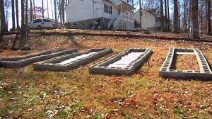cinder block raised beds youtube