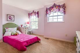 girls room pink room bedroom model home floor plan