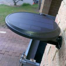 self contained motion detector light self contained 160 degree black motion activated outdoor integrated