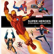 marvel heroes storybook collection books marvel shop
