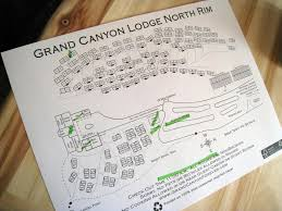 Map Grand Canyon Map Of The Grand Canyon Lodge North Rim Notice That 18 And U2026 Flickr