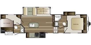 Cougar 5th Wheel Floor Plans 2015 Keystone Rv Cougar Fifth Wheel Series M 334 Rdb Specs And