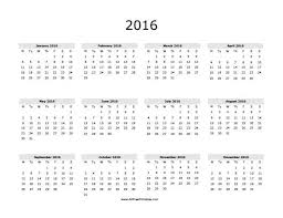 printable calendar yearly 2014 blank yearly printable calendars 2016 white gold