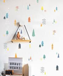 Tree Wall Decor For Nursery 15 Decor Ideas For Creating A Woodland Nursery Design Contemporist