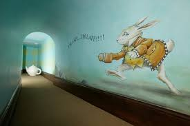 rabbit home decor alice in wonderland inspired home decor lace n ruffles
