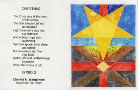 christmas poem by charles a waugaman and picture of the welcoming