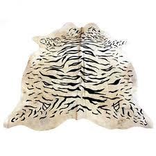 tiger skin rug ebay