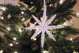 sparkly clothespin snowflakes small home big start