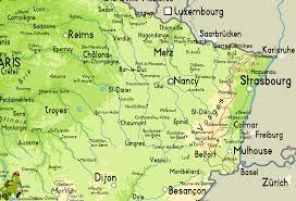 Strasbourg France Map Gr53 Crête Des Vosges