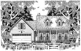 dreamhome source country style house plan 3 beds 2 baths 1573 sq ft plan 42 438