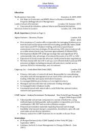 Sales And Trading Resume Institutional Equity Sales Trader Resume Contegri Com