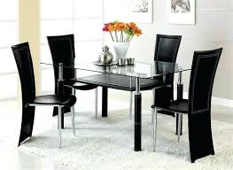 glass top dining table set 6 chairs dining sets for 6 bosssecurity me