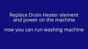 how to repair bosch washing machine error code f16 youtube