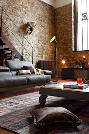 Old Modern Furniture by I Really Appreciate Modern Furniture Mixed With Rugged Old Loft