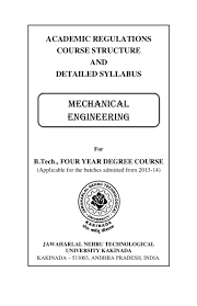 r13 mechanical syllabus
