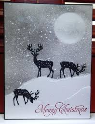 869 best christmas cards deer images on pinterest xmas cards
