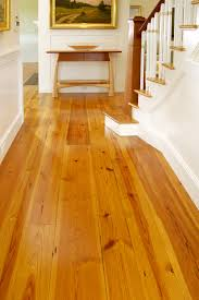 in pine or hardwood floors wide planks are for hallways