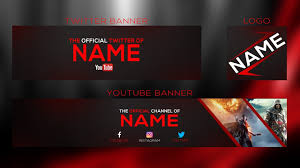 new 2017 banner template youtube banner twitter banner and