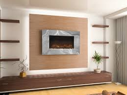 decorating electric fireplace insert for modern interior heater