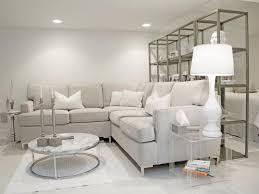 gray and white living room u2013 modern house