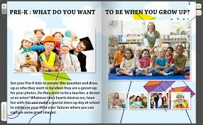 class yearbooks a glimpse of the future a what do you want to be page for